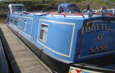 Lovely cruiser stern narrowboat, 45ft
