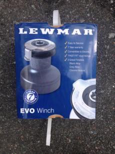 2 x 40ST EVO LEWMAR WINCHES BRAND NEW