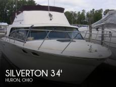 1980 Silverton 34 Sedan Cruiser