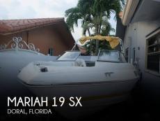 2006 Mariah 19 SX