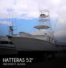 1988 Hatteras 52 Convertible
