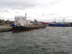 NON SELF-PROPELLED OPEN BARGE