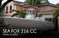 2007 Sea Fox 216 CC - 2011 Suzuki 150