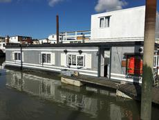 Furnished Static Houseboat