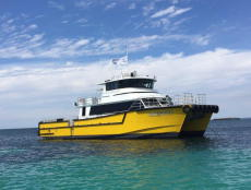 21.8m High Speed Crew Transfer Catamaran