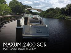 1999 Maxum 2400 SCR