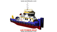 NEW LINE 16M PUSHER BOAT / TUGBOAT