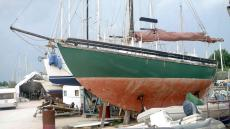 35 ferrocement Colin Archer type yacht