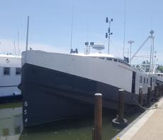 80' X 21' Steel Commercial Fishing Vessel