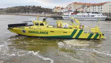 Fast Ambulance rescue vessel Hjartrud.
