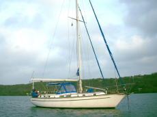 Gulfstar44 cruising sailboat