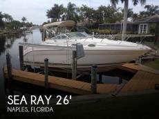 Sea Ray 260 Sundancer for sale, used Sea Ray 260 Sundancer