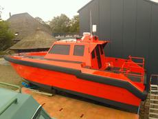 3x on stock: Catamaran, Workboat, Survey, Crew tender, Police, Patrol