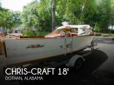 1958 Chris-Craft Sea Skiff 18