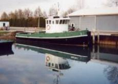2008 47' x 14.6' x 5' Steel Model Bow Tug