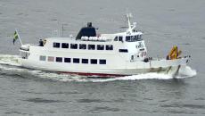 Icegoing passenger vessel Ramsö.
