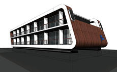 FLOATING HOTEL, FLOATING APARTMENTS, FLOATING HOMES, FLOATING CAR PARK