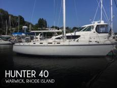 1986 Hunter 40