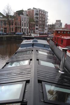 Fully restored dutch barge (Steilsteven)