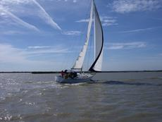 All steel fast cruising yacht