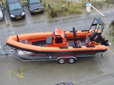 PM 723 RIB workboat     Tender  Survey  Dive support  police   patrol