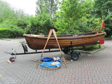 1923 Classic Wooden 'Jolly Boat' (reduced price)