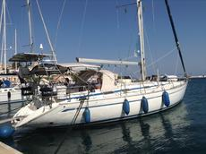 Bavaria 46 cruising yacht located Greece