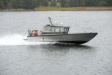 Capo Marine work boat Sluggo.