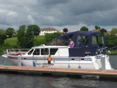 Altena Twin Engine Cruiser 50ft View in Carrybridge Co Fermanagh