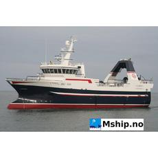 39,95 meter Stern trawler - Freezer / wet fish.