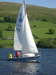 Westerly Nimrod Trailer Sailer with Trailer and Outboard
