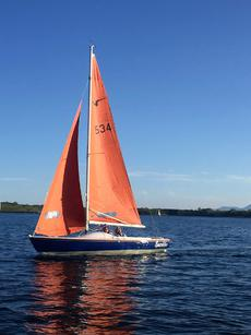 Sailing Yacht Squib 534 - good condition