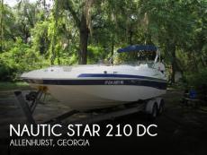 2008 Nautic Star 210 DC