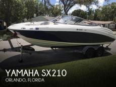 2010 Yamaha SX210