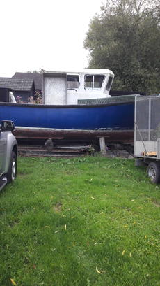 FISHING BOAT TOW BOAT  unfinished  project