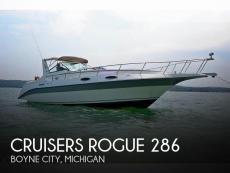 1987 Cruisers Yachts Rogue 286