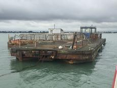 24m x 6.3 Landing Stage Pontoon