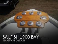 2008 Sailfish 1900 Bay