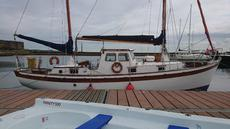 TYRELL BUILT 36' MOTORSAILER   £12500 major reduction