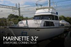 1989 Marinette 32 Fly Bridge Sedan Cruiser
