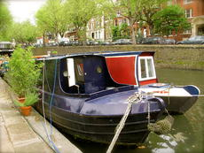 Smart Narrowboat, Little Venice mooring