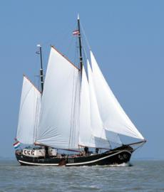 Clipper sailing - chartership 30-45 pers.