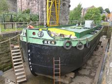 73ft Humber Keel - would make great houseboat conversion Good survey.