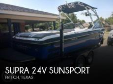 2009 Supra 24V Sunsport