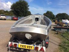 Coble shaped fishing/workboat  Aluminium