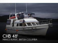 1984 CHB 48 Trawler Motoryacht