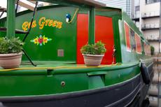 Pea Green & residential mooring in London