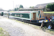 58ft Brand New Cruiser Stern Narrowboat