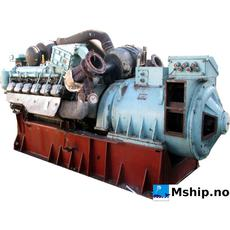 Deutz 12M 716 generator set 419 kWa