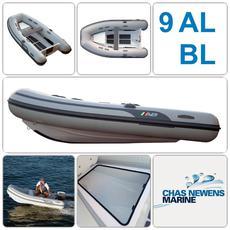 """NEW AB 9 AL BL 9ft 1"""" / 2.76m  Aluminum Tender / RIB WITH Bow Locker"""